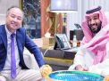 """لقاء محمد بن سلمان ومؤسس """"سوفت بنك"""".. الدقيقة بمليار دولار"""