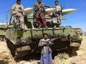 """جماعة """"أنصار الله"""" الحوثية تعلن إطلاق 3 صواريخ من اليمن على تجمعات للجيش السعودي بمنطقة نجران جنوبي السعودية"""