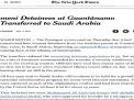 """""""نيويورك تايمز"""": واشنطن سلّمت السعودية أربعة ارهابيين يمنيّين كانوا معتقلين في غوانتانامو"""
