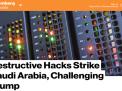 """""""بلومبرغ"""":هجمات الكترونية ايرانية شرسة تلحق أضرارا بالغة بالسعودية"""
