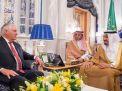 """شاهد"""": الملك سلمان لوزير الخارجية الأمريكي: أنا ابني خالد معين سفيرا في أمريكا !"""