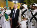 بعد استقبال ترامب بالخيول والرقصات في الرياض لن يسارع الى البصق في وجه السعودية ونقل السفارة الى القدس