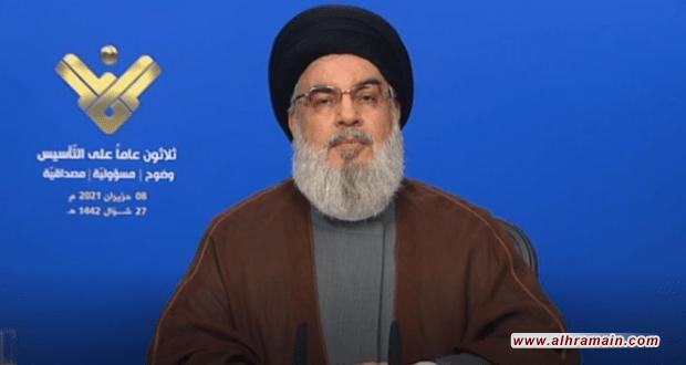 السيد نصر الله : هناك فشل ذريع للعدوان الأمريكي السعودي على اليمن وهم يبحثون عن مخرج
