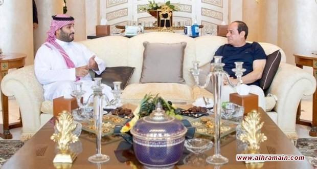 صحيفة لبنانية تكشف تفاصيل ما جرى بين السيسي وابن سلمان في شرم الشيخ