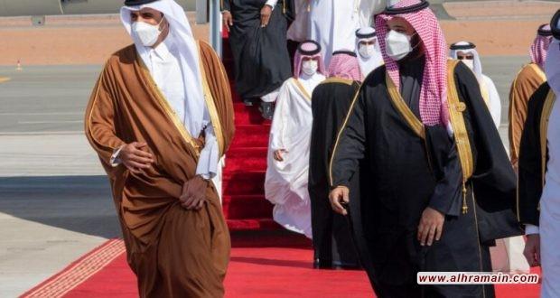 ابن سلمان يستقبل أمير قطر اليوم، وسجونه تحتجز معتقلين بتهمة زيارة قطر