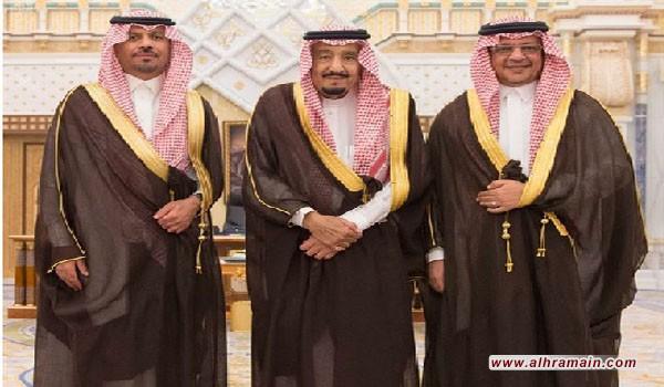وزيرا الحرس الوطني والاقتصاد والتخطيط السعوديان يؤديان اليمين الدستورية