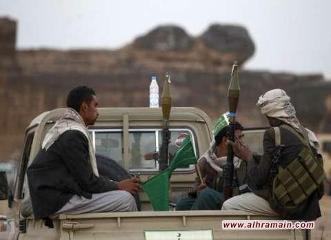 """القوات الحوثية تُواصل """"قصفها الدقيق"""" لمواقع سعودية أمنية وعسكرية حساسة والتحالف يعلن تدمير مُسيرة كانت متّجهة نحو المملكة"""