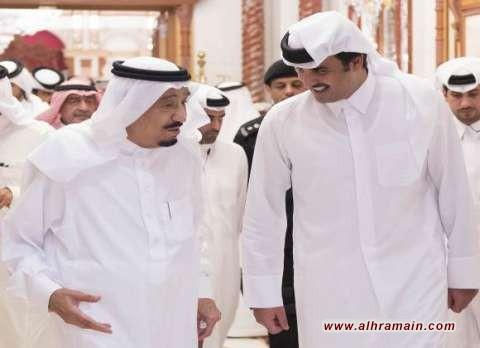 أمير قطر يزور السعودية لمناقشات ملفات حساسة على رأسها الملف النووي الإيراني وأوضاع منطقة الخليج وأحداث فلسطين