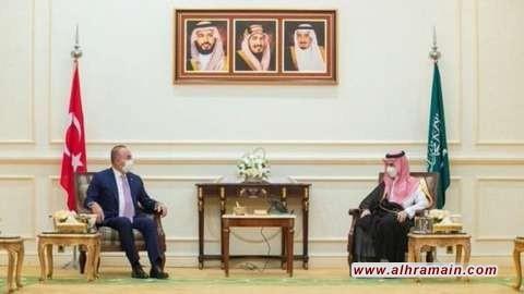 وزير الخارجية السعودي يستقبل نظيره التركي في مكة لبحث العلاقات الثنائية وحل الخلافات حول مقتل خاشقجي