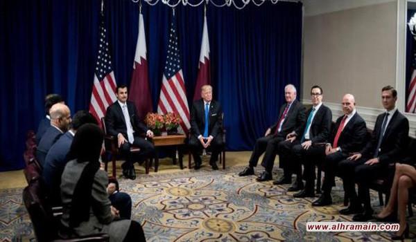بلومبيرغ: ترامب حذر السعودية والإمارات من عمل عسكري ضد قطر
