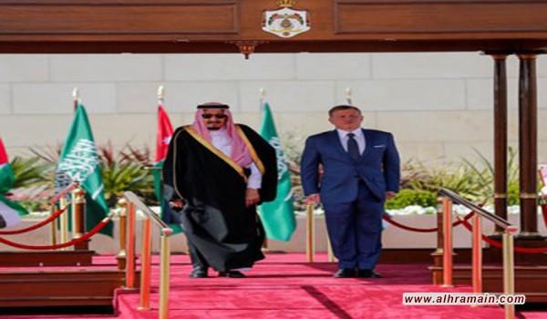 """كسوة """"خضراء"""" للتلفزيون الأردني وبث مباشر احتفاء بزيارة الملك سلمان.."""