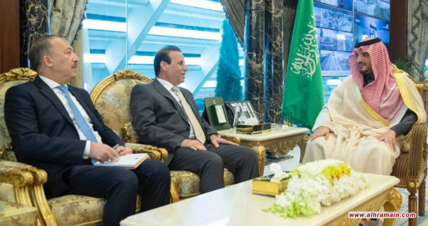 السعودية والعراق يبحثان تعزيز التعاون الأمني ومكافحة الإرهاب