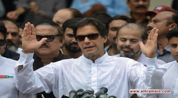 لماذا تشعر السعودية والامارات وامريكا بالقلق من فوز عمران خان في الانتخابات البرلمانية الباكستانية الأخيرة؟