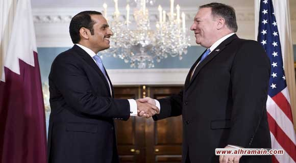"""ضُغوطٌ أمريكيّةٌ على قطر """"لحَلحَلة"""" الأزمة الخليجيّة تَمهيدًا لتَشكيلِ تَحالفٍ لتَضييقِ الحِصار على إيران؟ هل تَتجاوب الدَّوحة؟ وما هِي مَلامَح الحُلول المُقتَرحة؟"""
