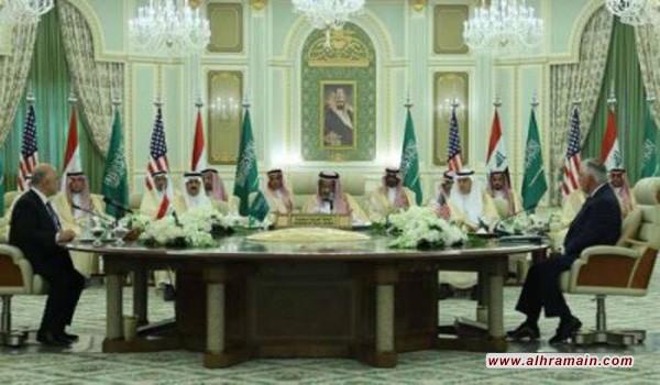 الرياض وبغداد تتوجان تقاربهما بمجلس تنسيق مشترك برعاية اميركية واتفاق على فتح المنافذ الحدودية