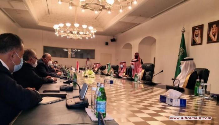 مصر والسعودية تشددان على ضمان حرية الملاحة في الخليج والبحر الأحمر