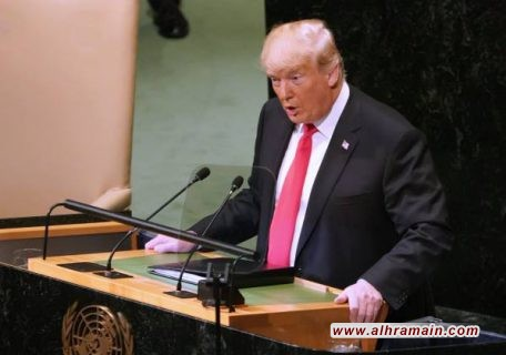 ترامب يعلن العمل مع دول الخليج والأردن ومصر لإقامة تحالف استراتيجي إقليمي