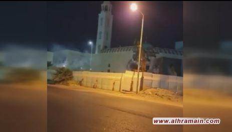 هدم مسجد بين بلدتي أم الحمام والملاحة بحجة توسعة الطريق