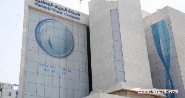الدور يصل إلى المياه في بيع القطاعات الحكومية في السعودية